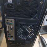 вид сзади фронт панель корпуса Antec NX210 Gaming
